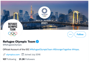 Refugee Olympic Team (@RefugeesOlympic)